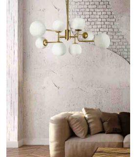 Comprar online Lámpara de Techo de Metal 8 luces : Colección ERICH