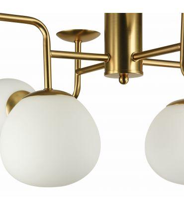 Lámpara de Techo de Metal 8 luces : Colección ERICH