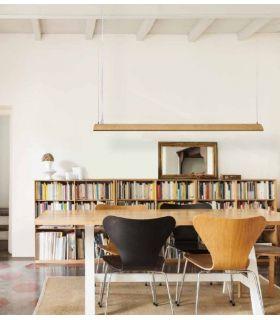 Comprar online Lámpara de techo LED en madera : Modelo KITO