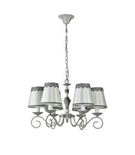 Comprar online Lámpara Clásica de Metal 6 luces : Colección BOUQUET