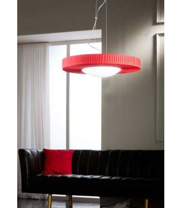 Lámpara de Techo en Seda Plisada : Colección STRAIGHT