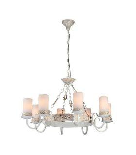 Comprar online Lámpara de Estilo Rústico : Modelo PALAZZO Blanco/Oro