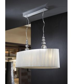 Comprar online Lámparas Modernas : MERCURY de 4 luces transparente.