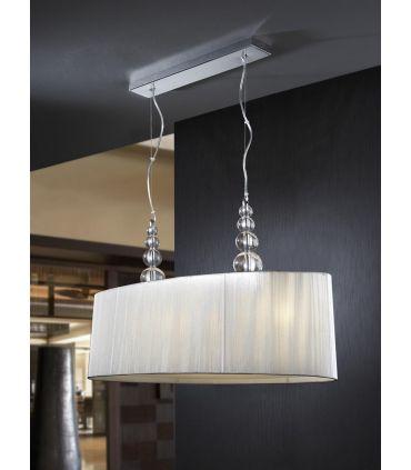 Lámparas Modernas : MERCURY de 4 luces transparente.
