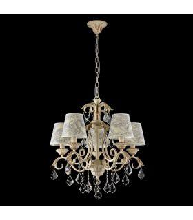 Comprar online Lámpara de techo de Estilo Clásico : Colección VELVET 5 Luces