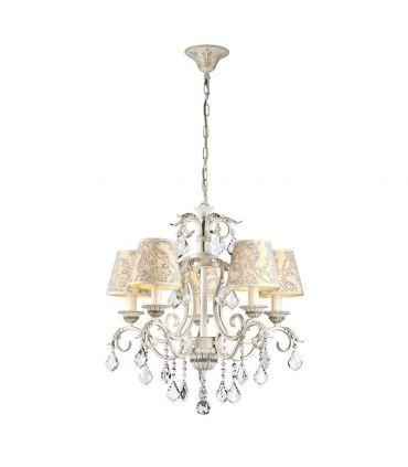 Lámparas de Techo de Estilo Clásico : Colección VELVET 5 Luces
