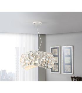 Lámpara Blanca 5 luces de Schuller : Colección NARISA