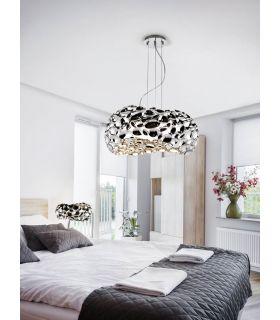 Comprar online Lámparas Diseño Moderno Acabado Cromo : Colección NARISA 5 luces
