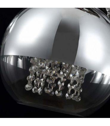 Lámpara de Techo de 5 Globos : Modelo FERMI