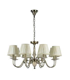 Comprar online Lámparas Araña de Metal y Cerámica : Colección BATTISTA 8 luces