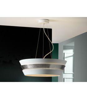 Comprar online Lámpara de techo de 6 luces : Colección ISIS plata
