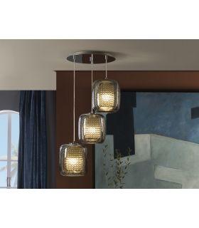 Comprar online Lámpara de techo de Cristal : Modelo AQUA