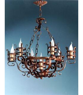 Comprar online Lámpara rústica Mod. L-133-7