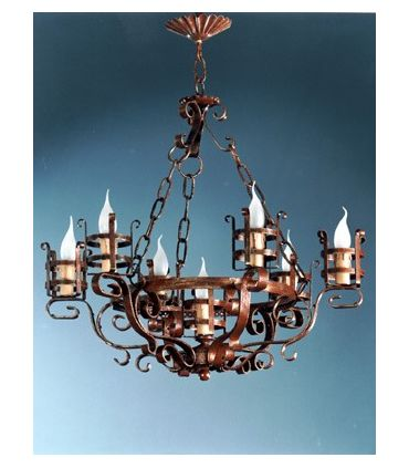 Lámpara rústica Mod. L-133-7