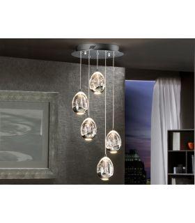 Comprar online Lámparas LED de 5 luces : Colección ROCIO cromo