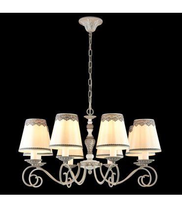 Lámpara de Techo Clásica de 8 luces : Colección BOUQUET