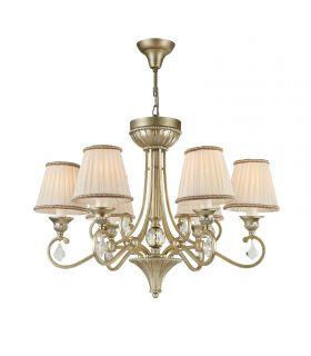 Comprar online Lámpara de Techo Clásica con Pantallas 6 luces : Modelo VALBONNE
