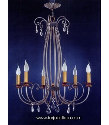 Lámpara de forja: Mod. WOTRI