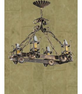 Comprar online Lámpara rústica Mod. L-93-4