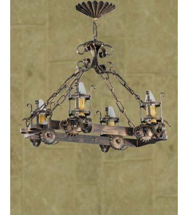 Lámpara rústica Mod. L-93-4