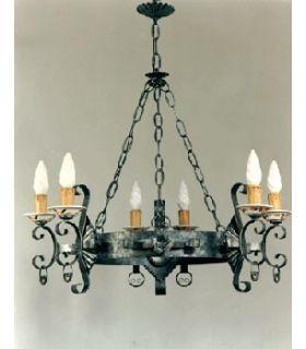 Comprar online Lámpara de forja: Mod. L-105-6