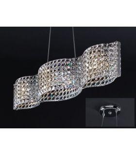 Comprar online Lámparas con Abalorios de cristal : Colección ONDA Horizontal