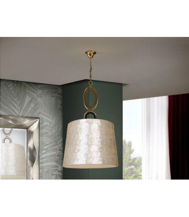 Lámpara Colgante en Pan de Oro : Colección EDEN