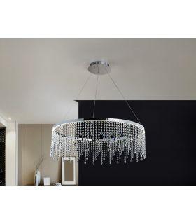 Comprar online Lámpara LED de Metal y Cristal : Colección ANASTASIA Grande