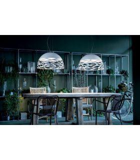 Comprar online Lamparas de Diseño Italiano : Coleccion KELLY Blanco
