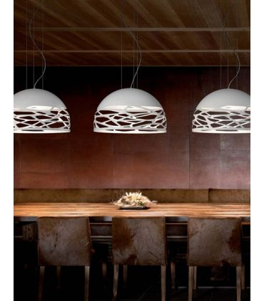 Lamparas de Diseño Italiano : Coleccion KELLY Blanco