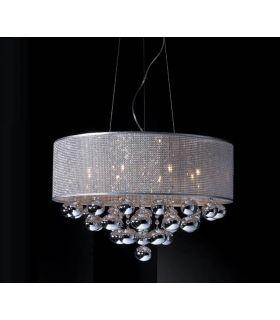 Comprar online Lámpara de techo : Colección ANDROMEDA 8 luces