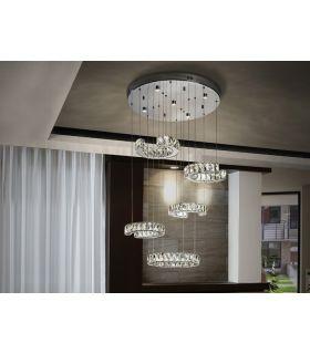 Comprar online Lámpara LED de Schuller Cristal 5 luces : Modelo CALA