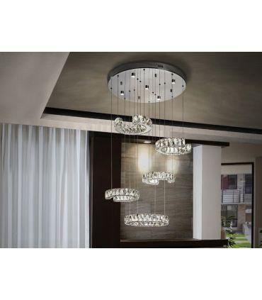 Lámpara LED de Schuller Cristal 5 luces : Modelo CALA