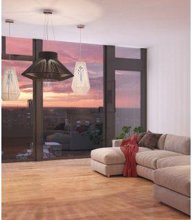 Comprar online Lámparas con pantalla en textil : Colección KOORD