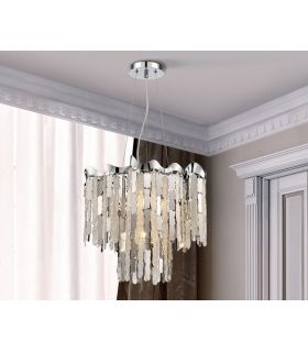 Comprar online Lámpara Moderna de Schuller de Diseño 4 luces : Modelo CHANTAL