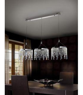 Comprar online Lámpara LED de Metal y Cristal : Colección ANASTASIA Horizontal