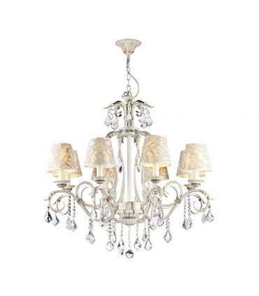 Lámparas de Techo de Estilo Clásico : Colección VELVET 8 Luces