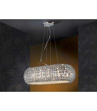 Lámparas Originales: Colección DIAMOND oval de 10 luces.