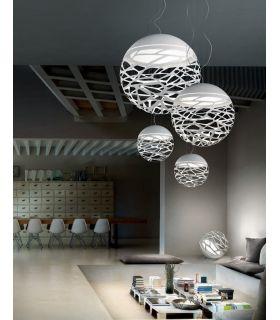 Comprar online Lamparas de Diseño Italiano : Coleccion KELLY Esfera Blanco