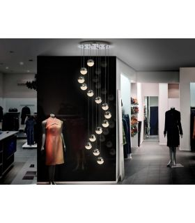 Comprar online Lámpara de Diseño en Espiral : Colección SPHERE
