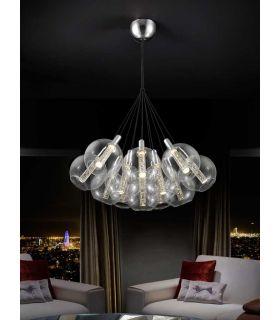 Comprar online Lámpara de techo luz LED : Colección EIRE 12 luces