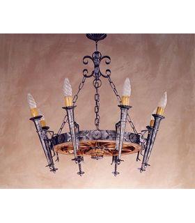 Comprar online Lámpara de forja: Mod. L-98-8
