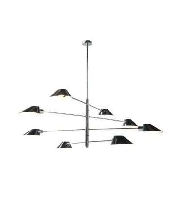 Lámpara de Techo de 8 Brazos : Modelo CELIA