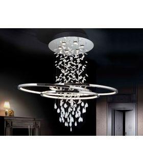 Lamparas Modernas de Diseño : Modelo BRUMA 6 luces