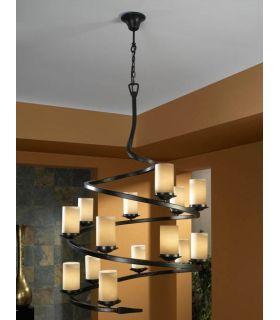 Comprar online Lámpara de forja : Colección CRISOL 14 Luces