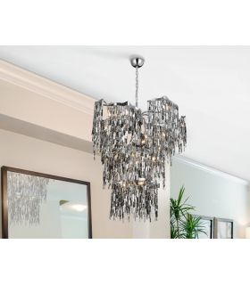 Comprar online Lámpara de Schuller Diseño Moderno en Metal : Modelo KATIA 14 luces