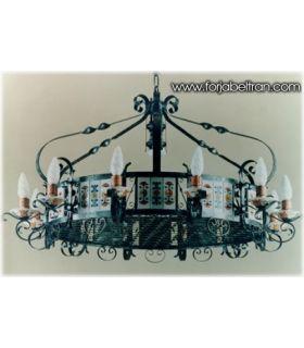 Comprar online Lámpara rústica de forja: Mod. GIPUZKOA