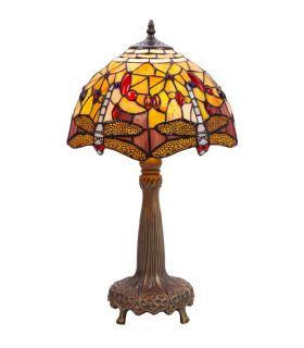 Lámparas Sobremesa Tiffany : Modelo LIBÉLULA II