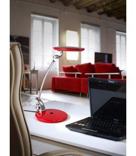 Comprar online Lámpara de Estudio LED : Modelo OMNIA Rojo