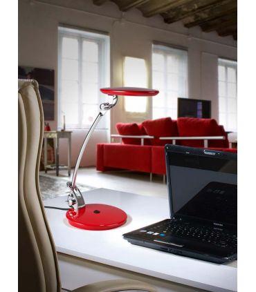 Lámpara de Estudio LED : Modelo OMNIA Rojo